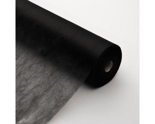 Простыни InGarden в рулоне 70х200см, чёрные, 100шт/уп.