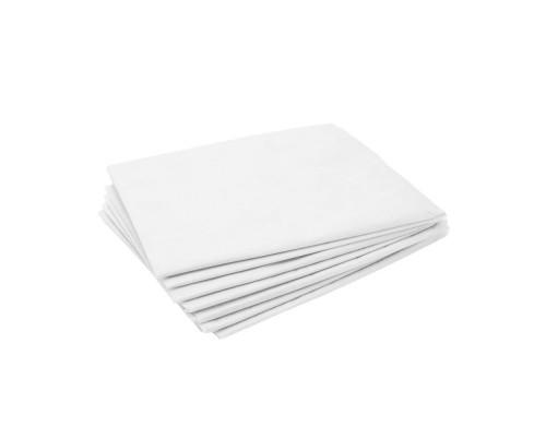 Простыни InGarden в сложении 80х200см, белые, 20 шт/упак.